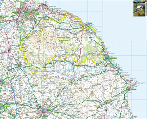 map england yorkshire dales