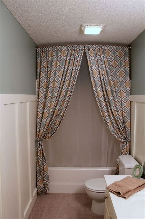 bathroom curtain ideas for shower ideas of stand up shower curtains useful reviews of