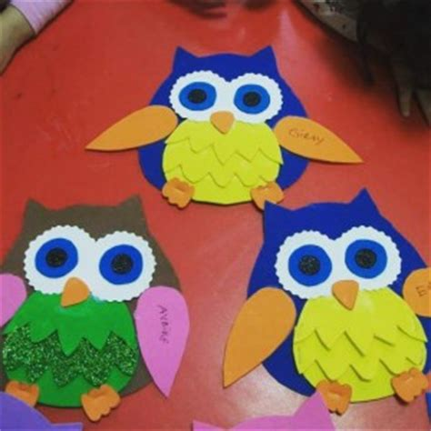 owl preschool craft bird craft idea for crafts and worksheets for 429