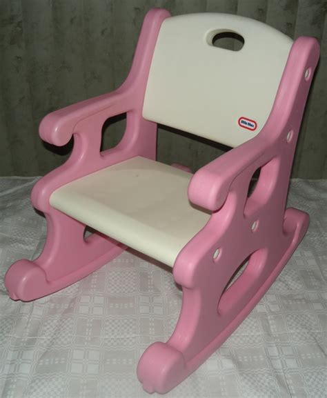 child size pink rocking chair tikes