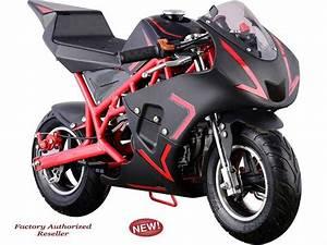 40cc Gas Powered Mototec High Performance Mini Pocket Bike