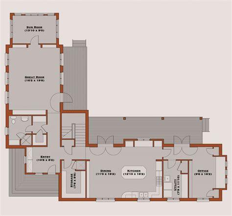 style floor l floor plans l shaped house