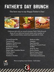 Father's Day Brunch 6.18.17 | Granite City Food & Brewery