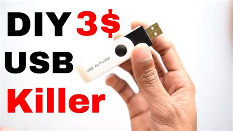 How To Make Fall Decorations At Home: How To Make USB Killer : DIY In 3$
