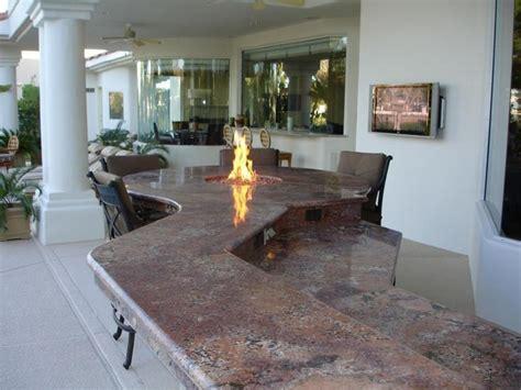 stunning outdoor kitchen las vegas  granite outdoor