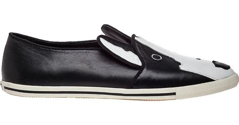 Marc By Marc Jacobs Neville Bull Terrier Loafers In