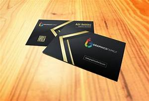 Gold, Business, Card, U2013, Graphicsfamily