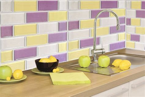 adh駸if mural cuisine carrelage mural adhesif pour cuisine photos de conception de maison elrup com
