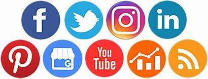 Social Logos Platform Transparent Icons Management Cartoon