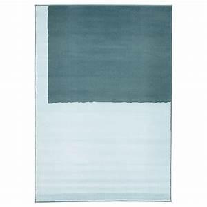 stillebak tapis poils ras bleu 133x195 cm ikea With tapis poil ras