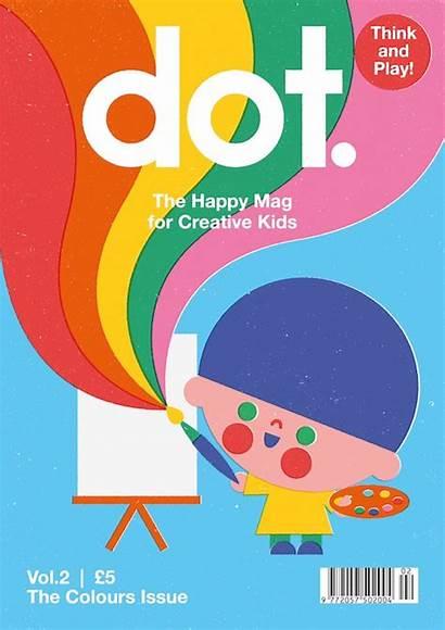 Magazine Dot Adults Graphic Under Illustration Magazines