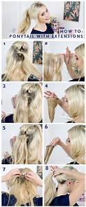 How To Do Ponytail With Short Hair  No Worry U Will Change