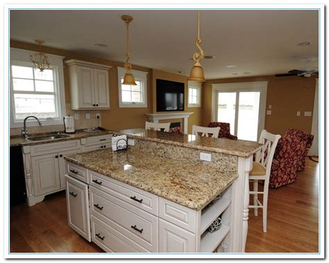 kitchens with granite countertops white cabinets white