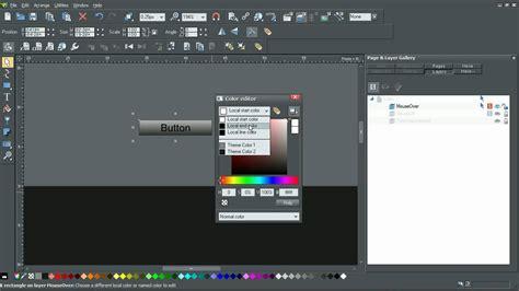 custom navigation bar  xara web designer  youtube