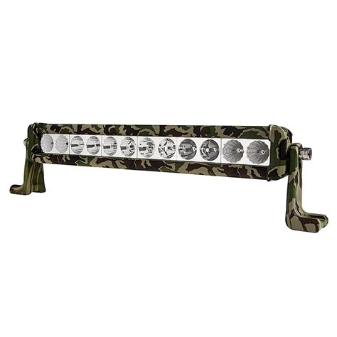 8 quot camo road led light bar w spot flood combo beam