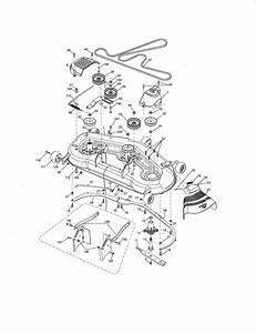 Craftsman Gt3000 Mower Deck Belt Diagram