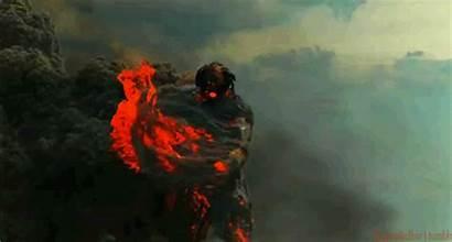 Titans Kronos Wrath Surtur Gods Godzilla Ragnarok