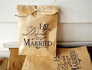 kraft paper favor bags by mavora art design via With salt water taffy wedding favors