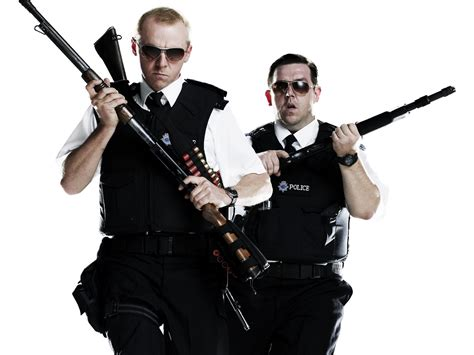 review hot fuzz kpbs