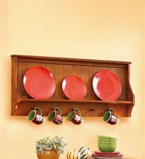 wooden dish racks   classic kitchen decor hometone