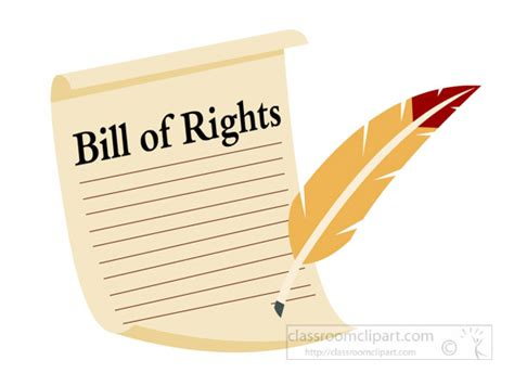 Bill Of Rights Clip Government Clipart Bill Of Rights Clipart 7117