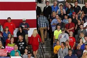 Plaidshirtguy At Trump Rally Is     A Billings High