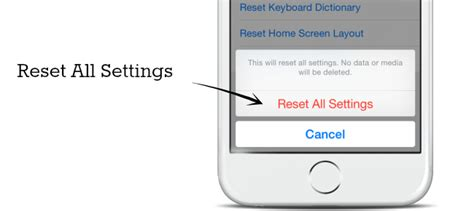 iphone reset all settings how to fix unresponsive iphone 6 plus 6 touch screen
