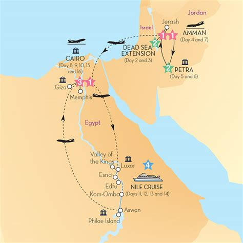 jordan  egypt  dead sea extension summer