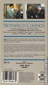 Nothing In Common   VHSCollector.com - Your Analog ...