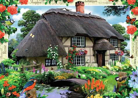 river cottage country cottage collection river cottage 1000pc image