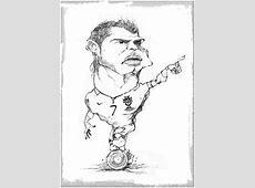 Caricaturas Archivos Imagenes de C Ronaldo