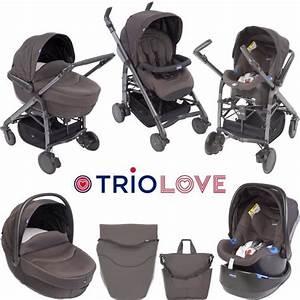 Chicco Trio Love : chicco poussette combin e trio love brown brown achat vente poussette 8058664039005 les ~ Sanjose-hotels-ca.com Haus und Dekorationen