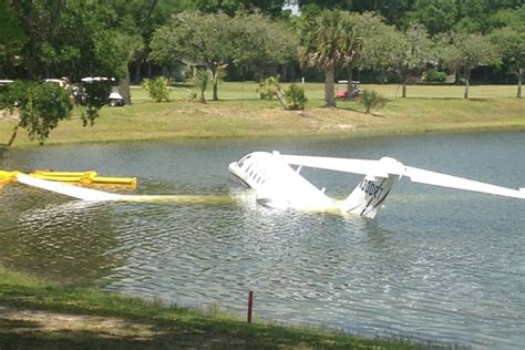 Cessna Cj3 N300et Over-runs Runway And Ends Up
