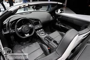 2009 IAA Frankfurt Auto / Motor Show – day2 – Audi R8 Spyder