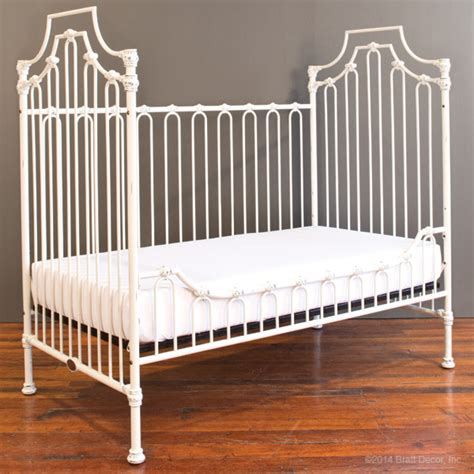Bratt Decor Venetian Crib Distressed White by Parisian 3 In 1 Crib Distressed White