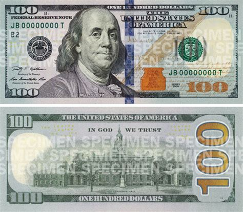 Cool Material Decodes The New $100 Bill  Refined Guy
