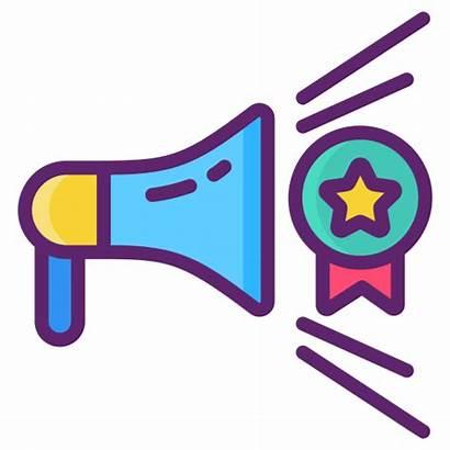 Awareness Icon Voice Building Marketing Icons Hughesnet