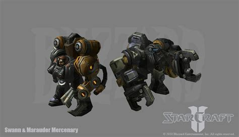 starcraft 2 swann marauder by phillgonzo on deviantart