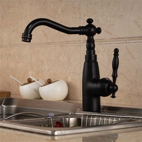 rubbed bronze kitchen sink rubbed bronze solid brass kitchen faucet single handle 7151