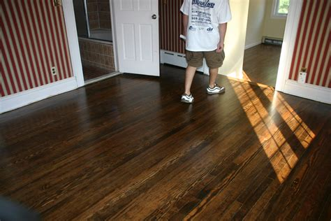 pine with dark walnut stain for the home pinterest