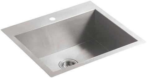 kohler stainless steel kitchen sinks faucet k 3822 1 na in stainless steel by kohler 8824
