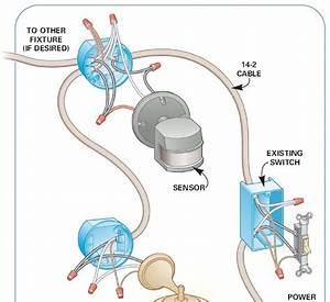 Wiring Diagram Motion Sensor Light