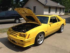 Ford Mustang Fastback 1982 Yellow For Sale. 1FABP16F8CF218331 1982 Mustang GT 5.0