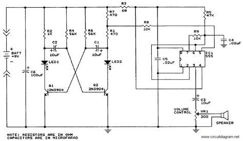 Sound Generator With Circuit Schematic