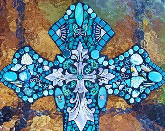 mosaic cross cliparts   clip art