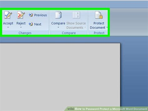 How To Password Protect A Microsoft Word Document 14 Steps