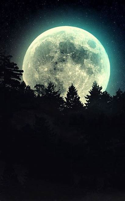 Moonlight Phone Moon Wallpapers Romantic Screen Luna