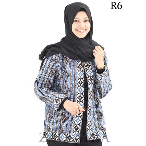 Baju Modifikasi Batik by Model Baju Batik Wanita Cap Asi Medan R6