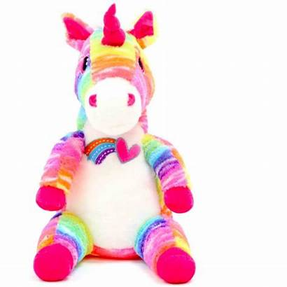 Unicorn Plush Stuffed Rainbow Valentine Sitting Walmart