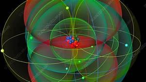 Chromium Atom Structure - Stock Video Clip  5323